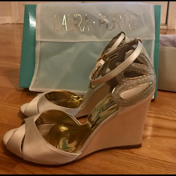 ba6027ee0a6e Anthropologie Shoes - BHLDN Da Mer Bridal Wedge